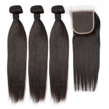 FREE SHIPPING Straight Brazilian Mink Top Grade Cuticle Aligned Virgin Hair