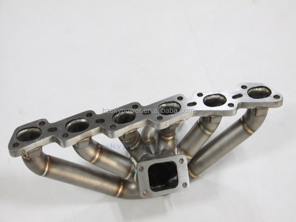 SS321 Steam Pipe N*ISSAN SKYLINE R33 R34 R32 RB20 RB25 TOP MOUNT TURBO MANIFOLD