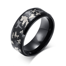 Cheap Price Jewelry Laser Technique Wholesale Poison Ring Latest Gold Finger Ring Designs for Men