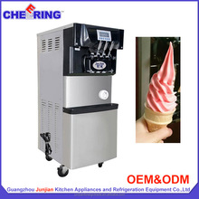 Commercial manufacturing machine soft serve gelato ice cream maker machine with high production