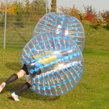 1.2m/1.5m/1.7m kids&adults inflatable bumper ball, 0.8-1mm PVC/TPU bubble soccer football, body zorb