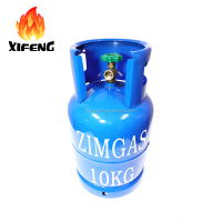 2018 New patent design lpg gas cylinder prices butane disposable helium s 10KG