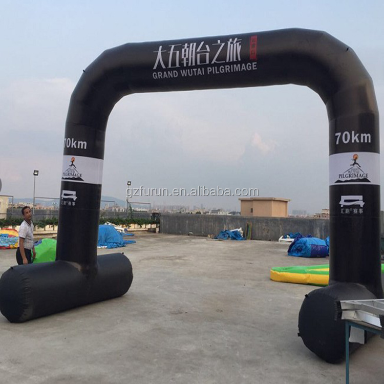 Local design inflatable arch pvc for promotion