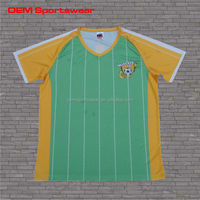 polyester printing association football tops