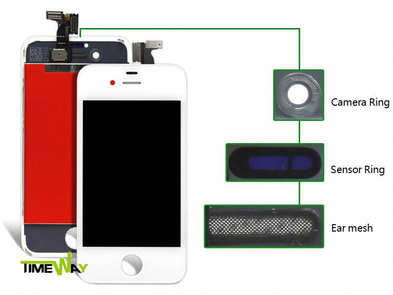 new for iphone 4 lcd conversion kit Accept Paypal!!!