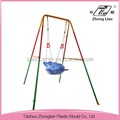 Outdoor plastic durable safety hanging swing chair for children