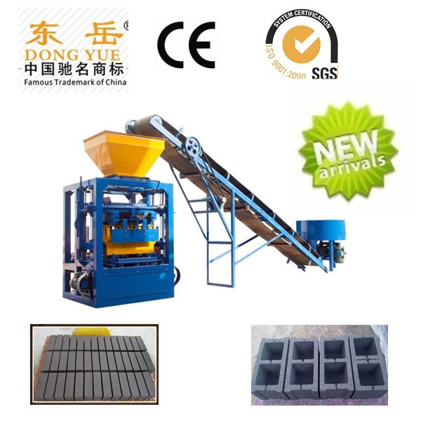 QT4-24 small used concrete block making plant