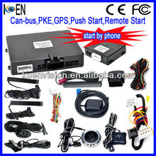 For United States Auto Security Car Alarm With PKE Push Start Remote Start