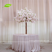 GNW CTR1605003-A 5ft artificial white cherry blossom tree centerpiece for wedding table decor