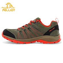 2017 New Anti-Skid Waterproof Men Climbing Athletic Brand Hiking Shoes From China