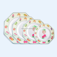 2016 New design square melamine dish Factory wholesale