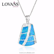 Opal Price Per Gram Silver Pendant 2015 New Trendy Products SPI018W-A