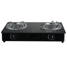 JP-GC210 Safety Standard 2 Burner Infrared Gas Stove Cooker Manufacturers China