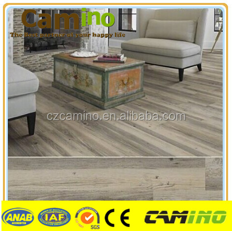 Cheap price recycled 2mm dry back pvc tile floor