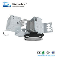 120V 25W Recessed Mount Vertical 6 Inch Architectural LED Downlight