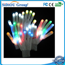 colorful & flashing led gloves For Party and Christmas