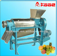 High quality industrial stainless steel fruit and vegetable screw juice extractor for apple,pineapple,tomato,berry,carrot,etc.