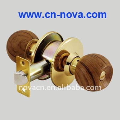 round wooden door knobs