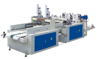HAS VIDEO Automatic High Speed Plastic Bag Making Machine With Automatic Puncher