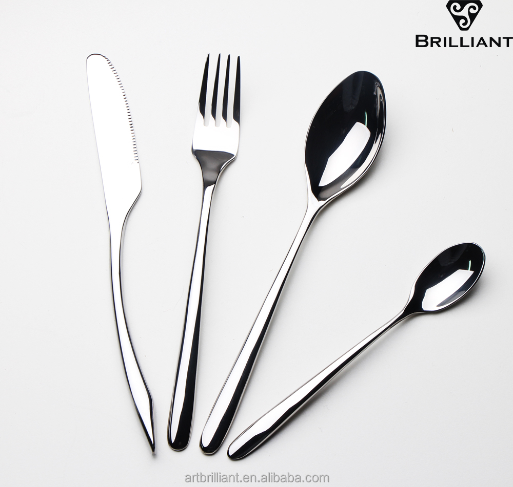 Brilliant BC2107 Airlines INTERNATIONAL SILVER CO Fork Spoon Knife Flatware Silverware