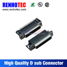 D-sub Connector Male Female 9 15 25 26 37 44 50 62 68 78 Pin 2 Row 3 Row Solder CUP IDC