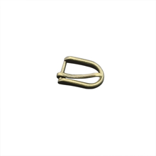 Nickel Free Center Bar Single Prong Oval Brass Shoe Color Pin Belt Buckle