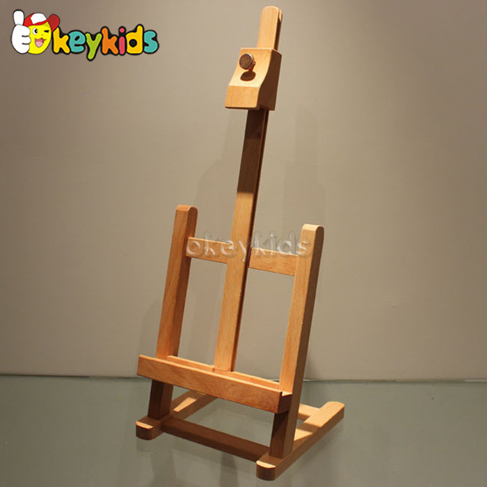 2016 wholesale kids wooden easel stand, new fashion children wooden easel stand, popular student wooden easel stand W12B069
