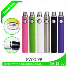 2017 Christmas gift USB passthrough EVOD VV battery smoking vapor pipes for sale