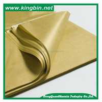 High quality tissue paper gold