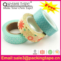 silicone adhesive tape,handmade writable paper tape with free samples offer