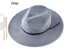 straw hat female summer travel folding UV protection sun hats for women grils