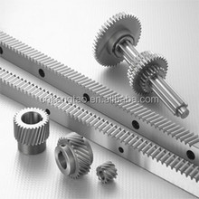 China wenling factory supply top quality steel racks pinions gears with customized design