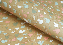 2015 Hot Sale Sweat Baby love Pattern Gift Wrapping Paper, Gift Wrap, Roll wrap