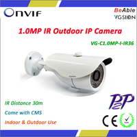 1.0 Megapixel Web Camera Outdoor Network Camera Camara IP