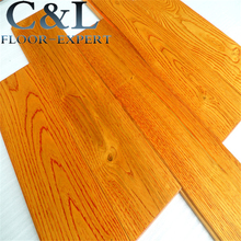 natural UV lacquer prefinished American Red Oak solid wood flooring