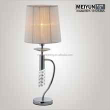 home decor christmas decoration luxury crystal table lamp