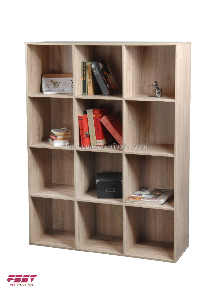 2016 New Simple Design wooden bookcase