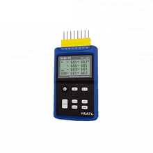 8 Channel Thermocouple Thermometer Data Logger Support K, <strong>J</strong>, E, T, R, S, N ,B Type thercouple sensor