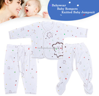 100% Cotton Printed Fabric Infant Wear baby pijamas