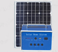 30W Solar Power System, Mini Solar System Home