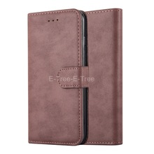 Wallet Case factory High quality OEM Order Retro Leather Flip Case For iphone 7plus Case