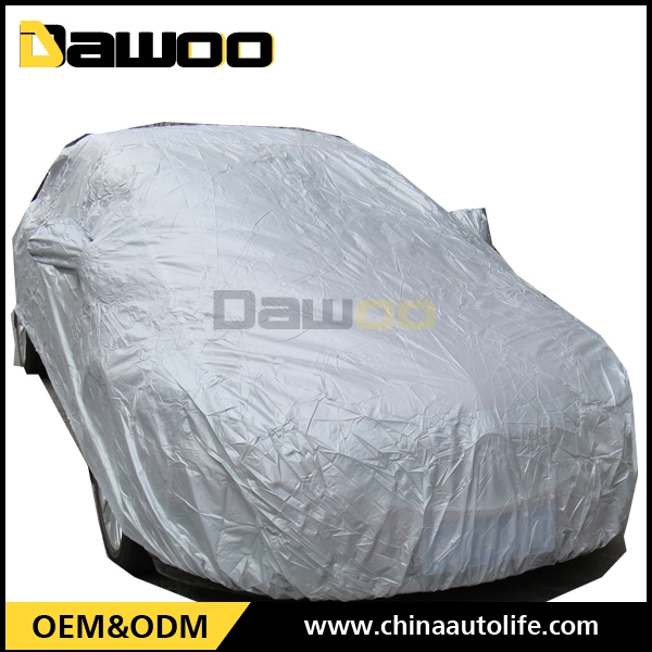 PVC Car Cover with cotton for sunshade and freeze-proofing magnetic car cover