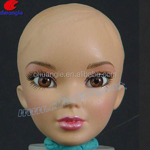 Custom Head Plastic Doll Face for Figure Toys