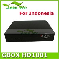 The latest, exclusive sales Indonesia DVB-C GBOX 1001 t2 set top box digital tv cable receiver