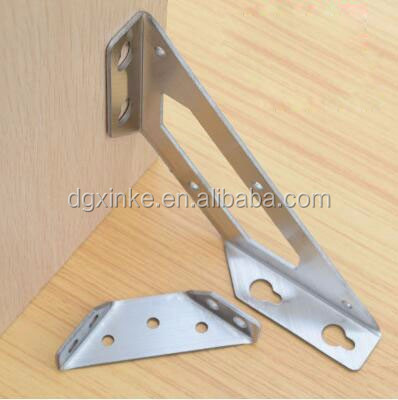 Aluminum alloy custom drawing metal steel cutting support hardware bracket