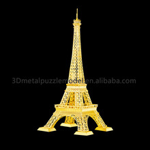 Super 3D Puzzle Game DIY Building Eiffel Tower Metal Puzzle