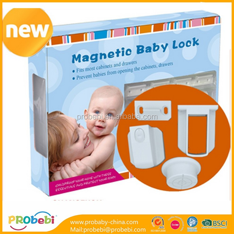 security protection doux bebe childproof magnetic cabinet lock
