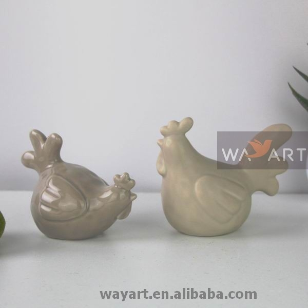 Amazing Ceramic Chicken Ornament of Ceramic Chickens and Roosters
