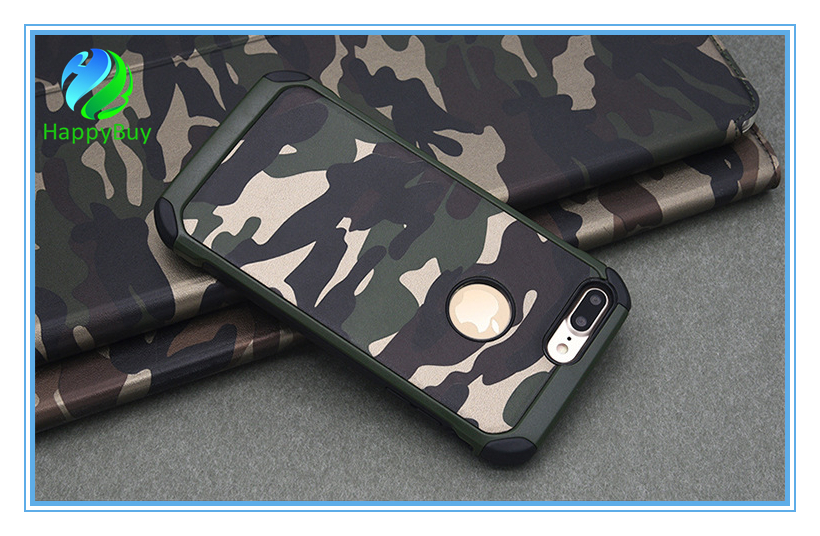 Double materials phone case for iphone5/5s/se,6/6s/6 plus,7/7 plus
