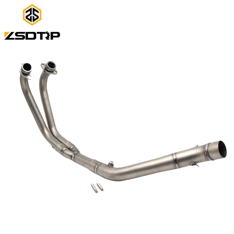 Top grade titanium durable motorcycle middle <strong>exhaust</strong> pipe for YZF-R25/R30 <strong>exhaust</strong> <strong>system</strong>